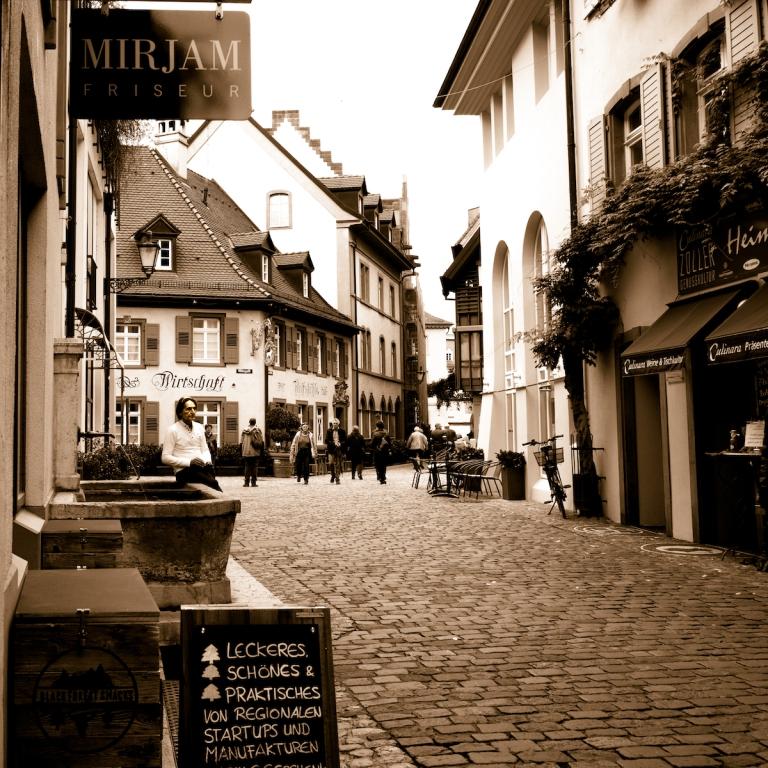 Konviktstrasse, alte Handwerkerstrasse