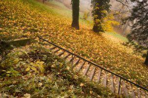 Stufen zum Schlossberg